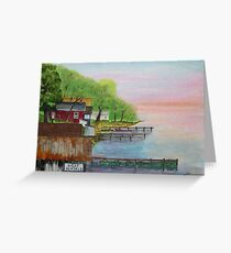 Resort Row Greeting Card