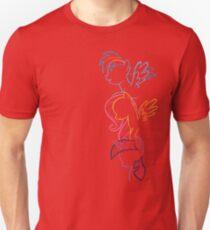 RDB, Fluttershy & Twilight (Left) Unisex T-Shirt