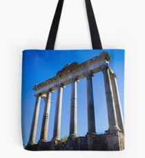Temple of Saturn, Rome Tote Bag