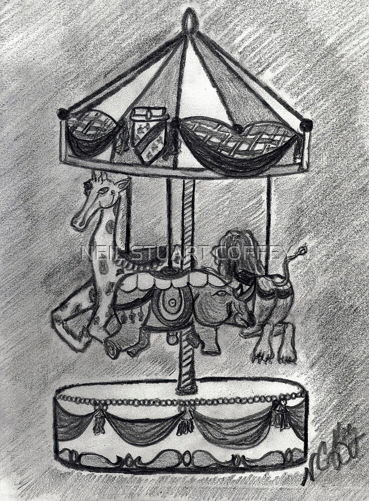 ANIMAL CAROUSEL by NEIL STUART COFFEY