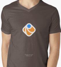 Raphaël.js Mens V-Neck T-Shirt