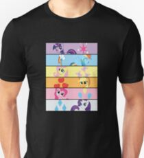 6 Mane MED Unisex T-Shirt