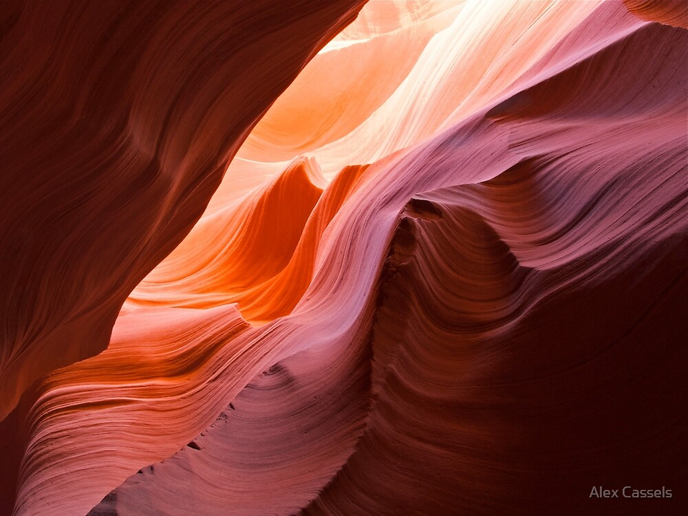 The Waves at Antelope Canyon, Arizona by Alex Cassels