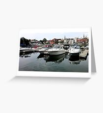 Boats on the St. Lawrence - Brockville, ON Greeting Card