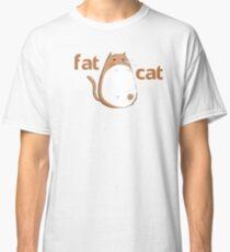 Sleeping FatCat Classic T-Shirt