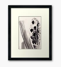 ABSTRACT INK 1 Framed Print