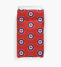 Royal Canadian Air Force Roundel Shield Duvet Cover