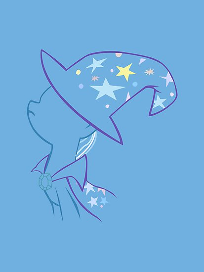 Trixie Outline by LcPsycho