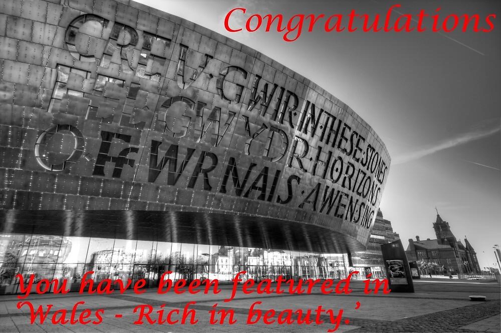 Wales, Rich in Beauty Banner by Graeme  Hunt