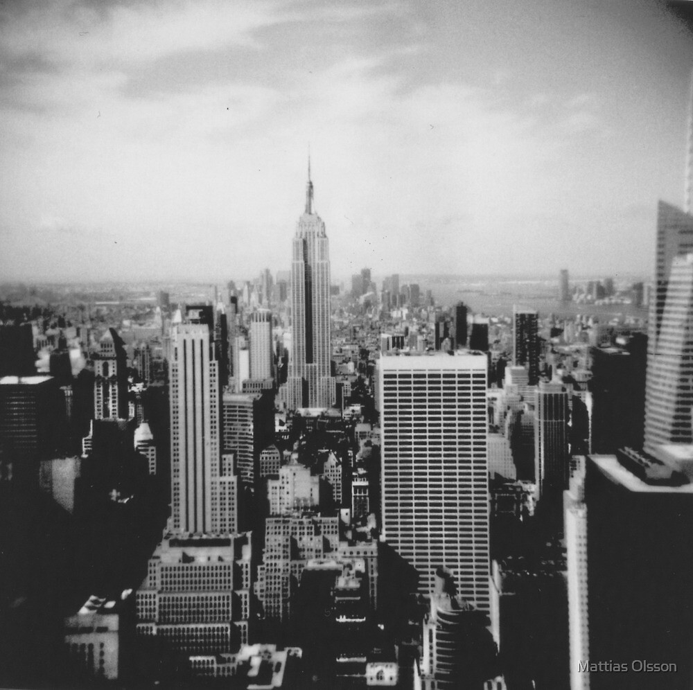 New York Skyline by Mattias Olsson