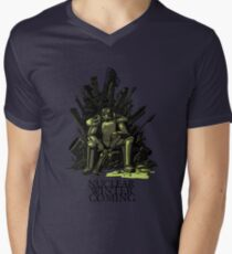 Nuclear winter is coming Men's V-Neck T-Shirt