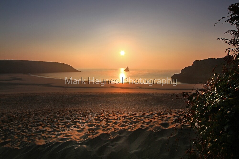 October Dawn, Broad Haven, Pembrokeshire by Mark Haynes Photography
