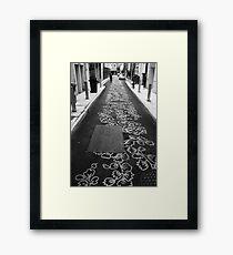 Burnett Lane - Brisbane Framed Print