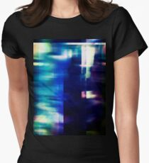 let's hear it for the vague blur Fitted T-Shirt