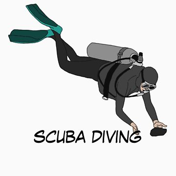 scuba diving by fitztown