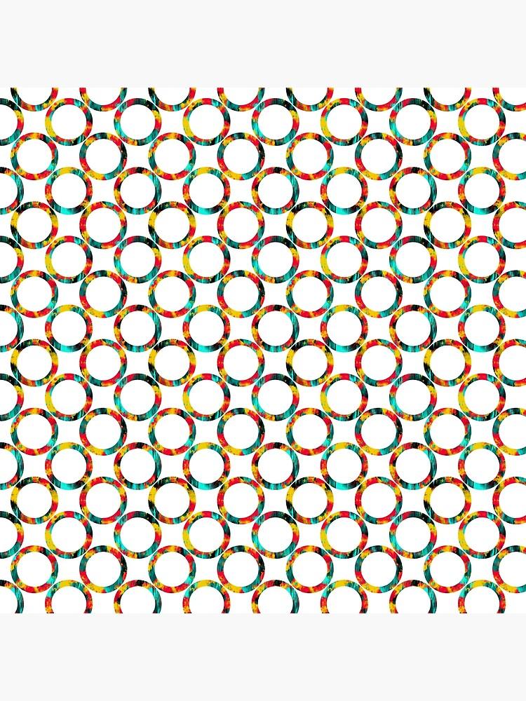 Decorative circles,multicolored by starchim01