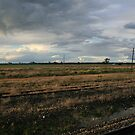 View from Serviceton Railway Station by Allison Sheenan