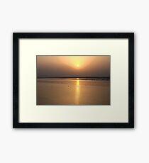 River Chenab HDR Framed Print