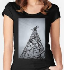 Tower #2 Women's Fitted Scoop T-Shirt