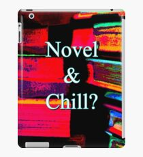 Novel & Chill? iPad Case/Skin