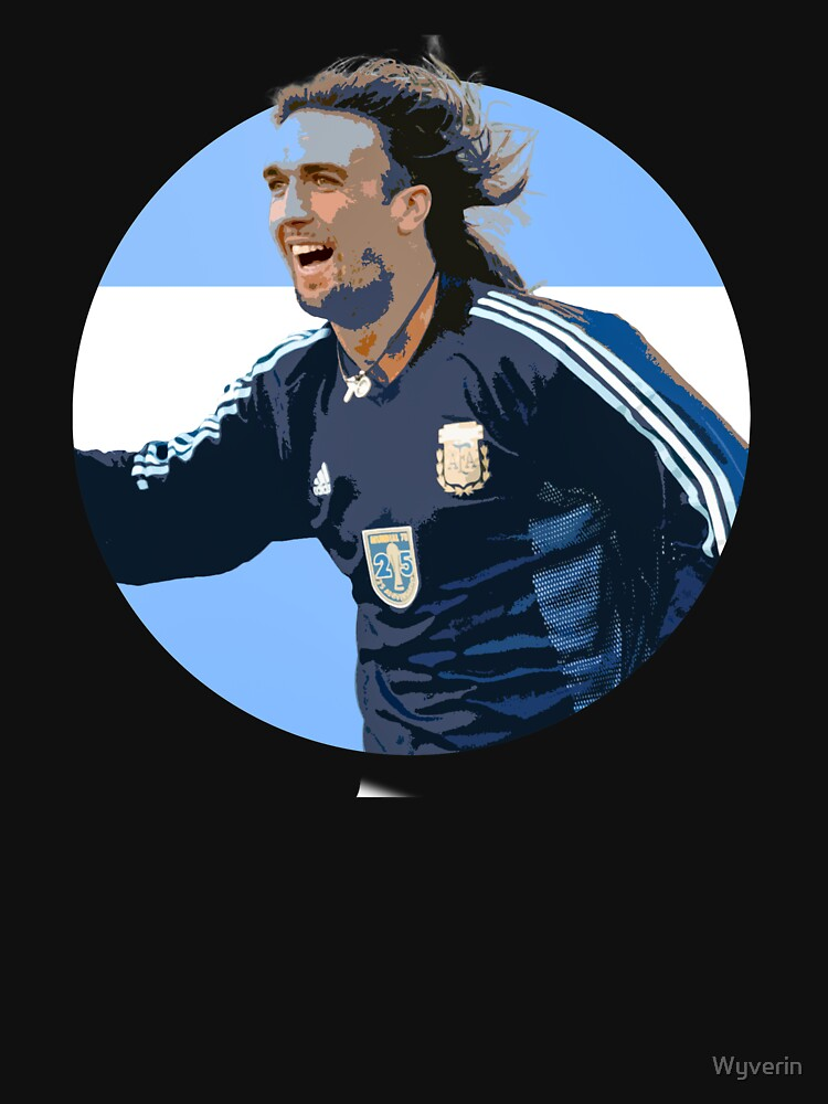 Batistuta - Argentinian Football Legend by Wyverin