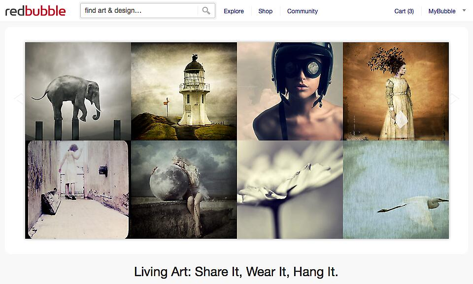 11 August 2011 by The RedBubble Homepage