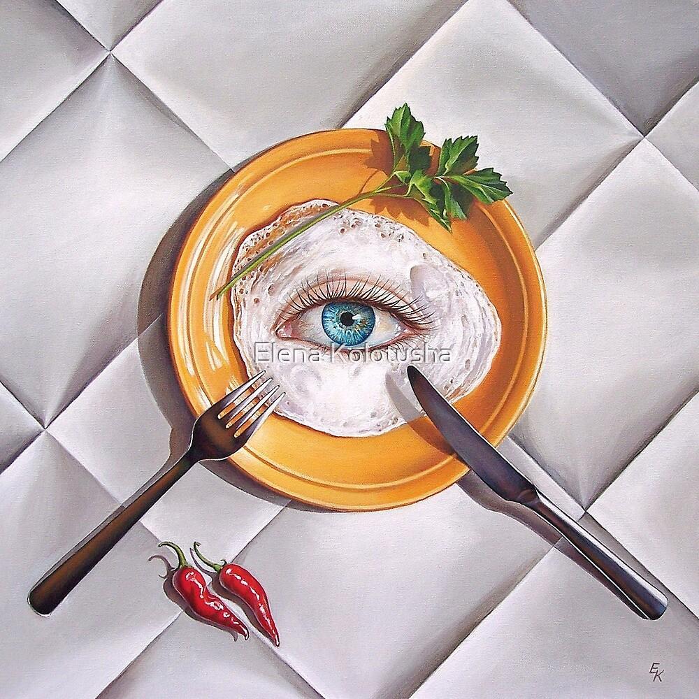 """""""Breakfast"""" by Elena Kolotusha"""