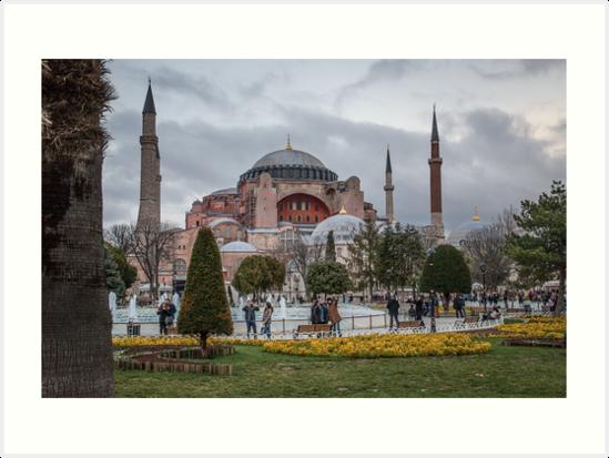 Hagia Sophia - Istanbul by Shirley Radabaugh