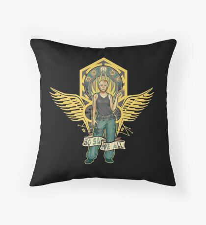 So Say We All Throw Pillow