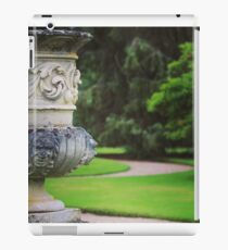 formal garden iPad Case/Skin