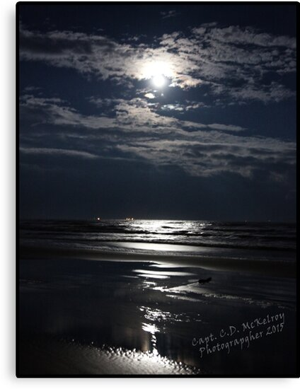 Light of a Super Moon by Capt. Charles McKelroy