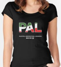 GTL in Italy Women's Fitted Scoop T-Shirt