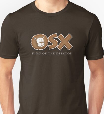 "Mac OS X Lion ""King of the Desktop"" T-Shirt"