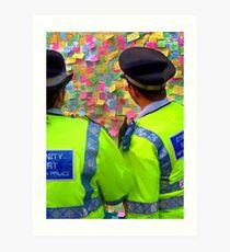 After the Riots - Peckham Art Print