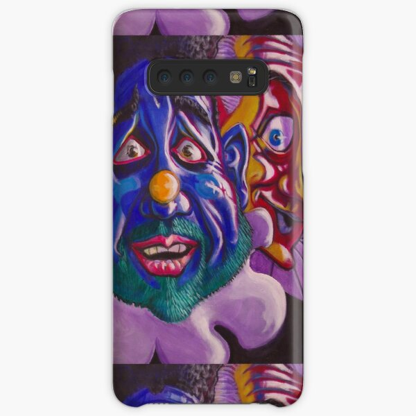 Happy scared, Pensive curious Samsung Galaxy Snap Case