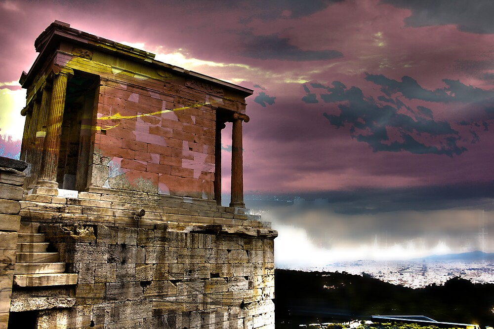 Athens Surrealism by AriaTees