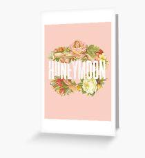 Victorian Design Greeting Card