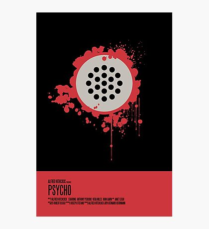 Psycho Poster Photographic Print