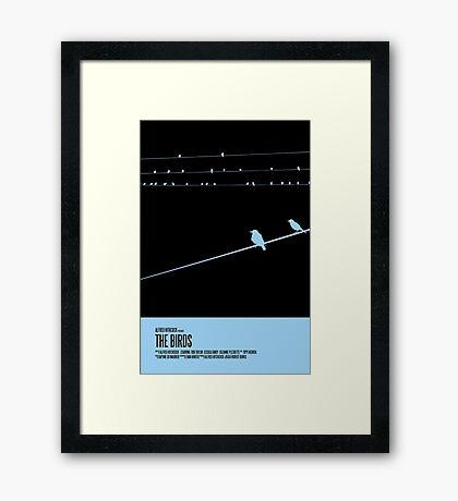 The Birds Poster Framed Print