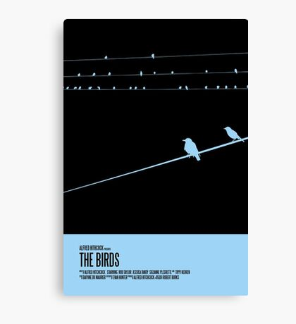 The Birds Poster Canvas Print