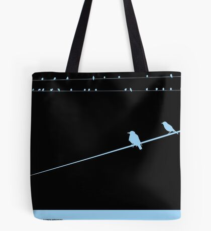 The Birds Poster Tote Bag
