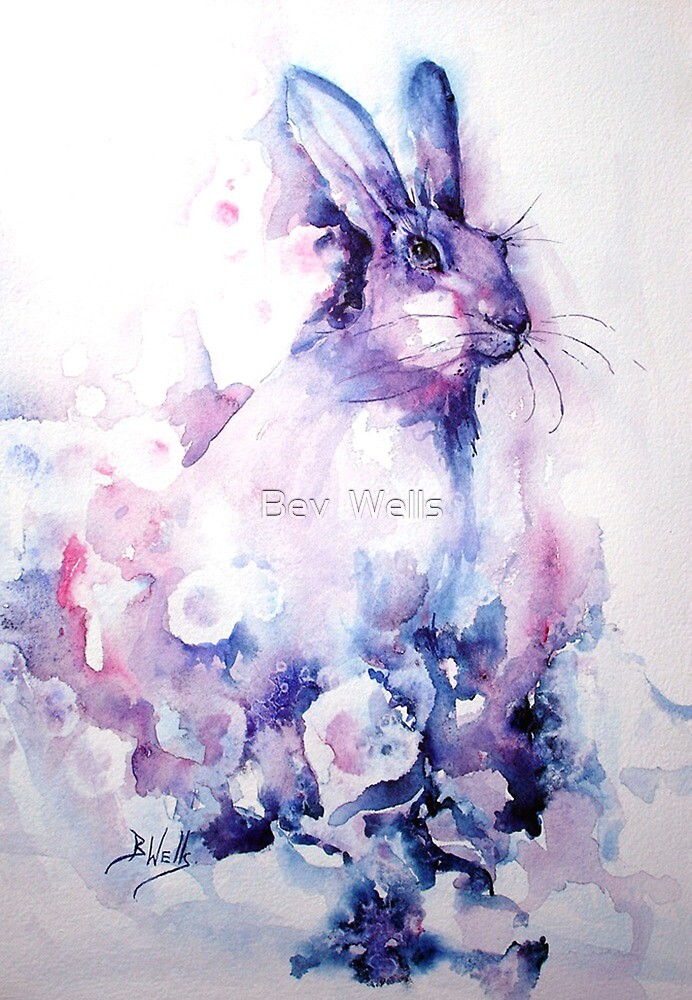 Spring Hare- by Bev  Wells