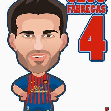 Cesc Fàbregas FCB by alexsantalo