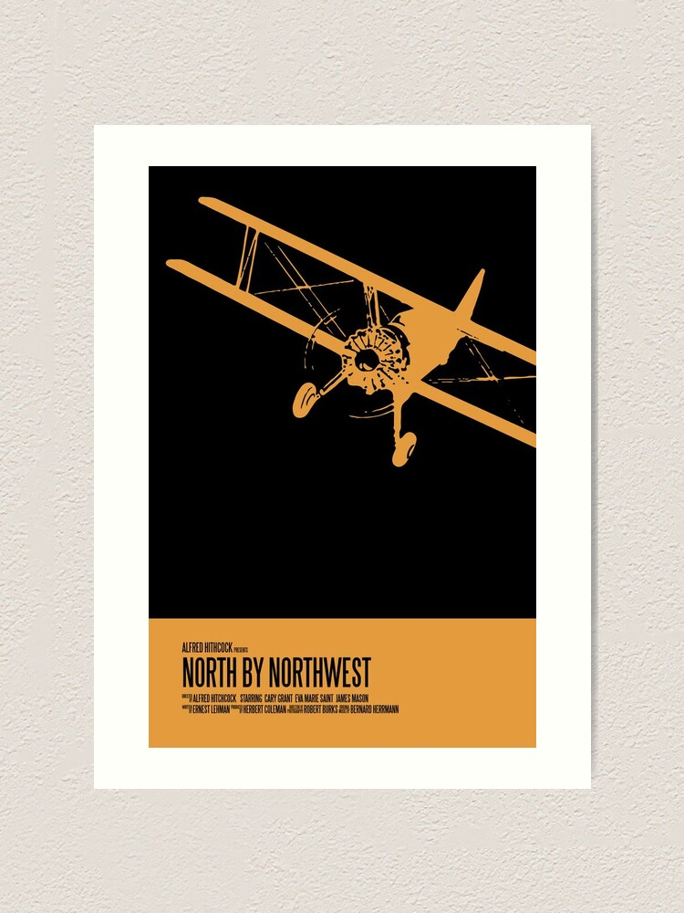 Alternate view of North By Northwest Poster Art Print