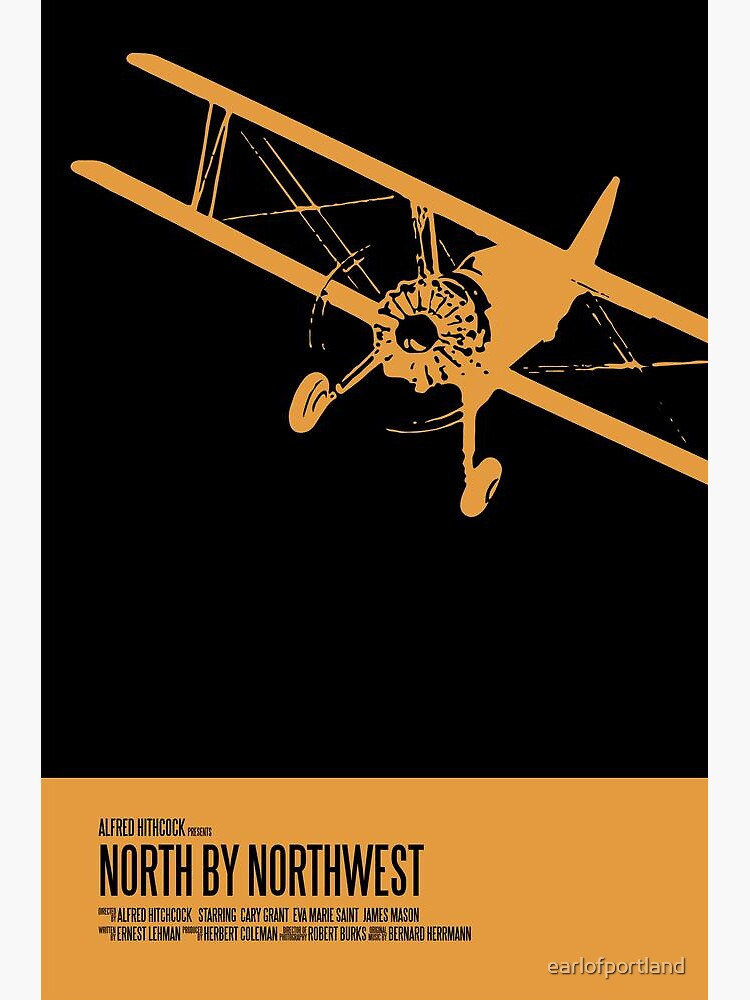 North By Northwest Poster by earlofportland