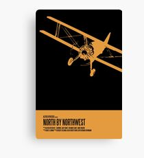 North By Northwest Poster Canvas Print