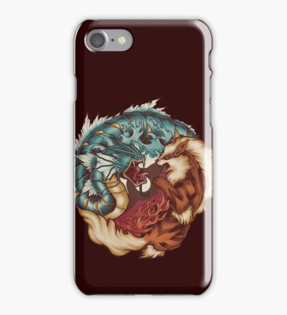 The Tiger and the Dragon iPhone Case/Skin