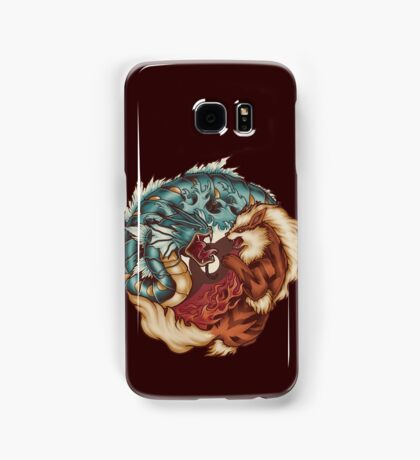The Tiger and the Dragon Samsung Galaxy Case/Skin
