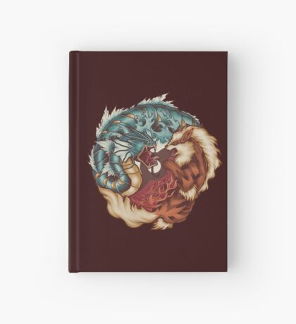 The Tiger and the Dragon Hardcover Journal