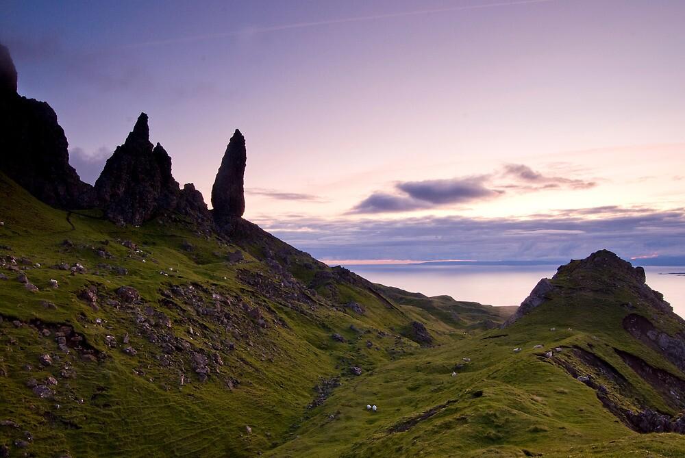 """Storr Sunrise"",Oldman of Storr,Skye,Highlands by jamieweeden"